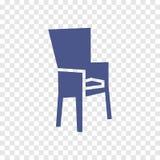 Icono de la silla Imagen de archivo libre de regalías