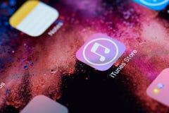Icono de la tienda de ITunes Foto de archivo