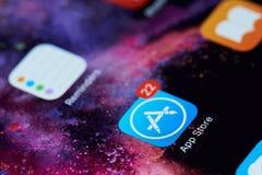 Icono de la tienda del App Foto de archivo libre de regalías