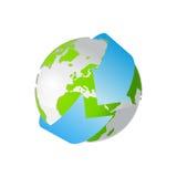 Icono de la tierra Fotos de archivo