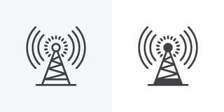 Icono de la torre de antena libre illustration