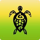 Icono de la tortuga Fotos de archivo libres de regalías