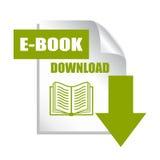 Icono de la transferencia directa del libro Imagen de archivo