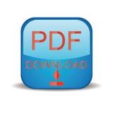 Icono de la transferencia directa del pdf stock de ilustración