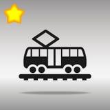Icono de la tranvía Fotografía de archivo