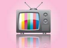 Icono de la TV Fotografía de archivo libre de regalías
