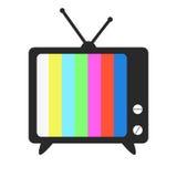 Icono de la TV Fotos de archivo