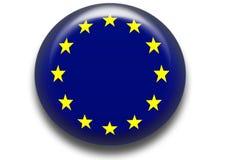 Icono de la unión europea Imagenes de archivo