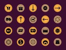 Icono de la venta Fotos de archivo