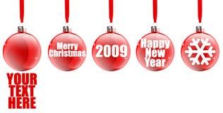 Icono de la venta de la Navidad stock de ilustración