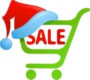 Icono de la venta de la Navidad Imagen de archivo libre de regalías