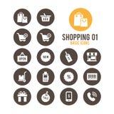 Icono de las compras Ilustración del vector Imagen de archivo libre de regalías