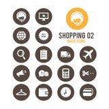 Icono de las compras Ilustración del vector Imágenes de archivo libres de regalías
