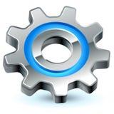 Icono de las configuraciones del engranaje Imagenes de archivo