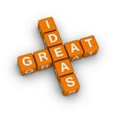 Icono de las grandes ideas Imágenes de archivo libres de regalías