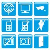Icono de las informaciones Imágenes de archivo libres de regalías
