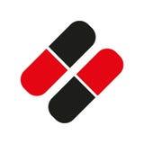 Icono de las píldoras Imagen de archivo