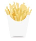 Icono de las patatas fritas Imágenes de archivo libres de regalías