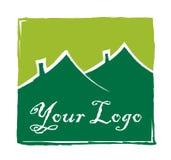 Icono de las propiedades inmobiliarias stock de ilustración