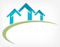 Icono de las propiedades inmobiliarias libre illustration