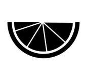 icono de los agrios del limón Imagenes de archivo