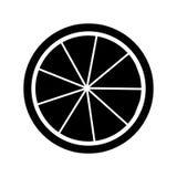 icono de los agrios del limón Fotografía de archivo