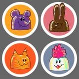 Icono de los animales Imagen de archivo libre de regalías