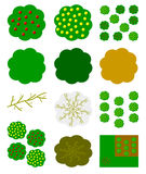 Icono de los plantones de frutal Imágenes de archivo libres de regalías