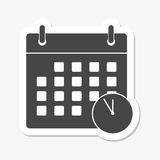 Icono de los plazos de la reunión libre illustration