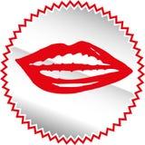 Icono de los sentidos fijado - vector Fotografía de archivo