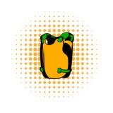 Icono de los tebeos del chaleco ilustración del vector