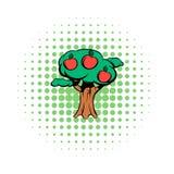 Icono de los tebeos del manzano libre illustration