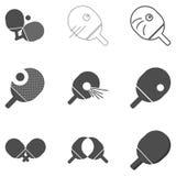 Icono de los tenis de mesa del ping-pong Foto de archivo