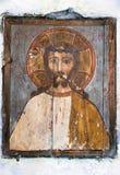 Icono de madera Foto de archivo libre de regalías