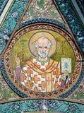 Icono de Nicholas del santo - patrón de navegantes Fotos de archivo libres de regalías
