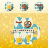 Icono de Oktoberfest Fotografía de archivo libre de regalías