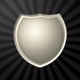 Icono de plata Fotografía de archivo