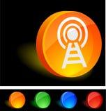Icono de radio stock de ilustración