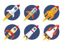 Icono de Rocket Imagenes de archivo