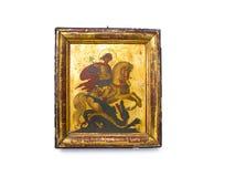 Icono de San Jorge Foto de archivo