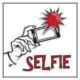 Icono de Selfie Fotos de archivo
