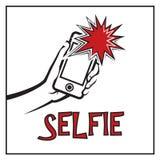 Icono de Selfie Fotografía de archivo