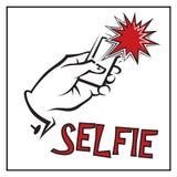 Icono de Selfie Foto de archivo