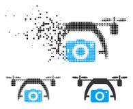 Icono de semitono punteado dañado del abejón de la foto libre illustration