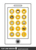 Icono de Smartphone stock de ilustración