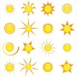 Icono de Sun Foto de archivo