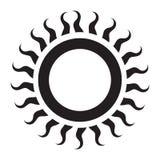 Icono de Sun Fotos de archivo