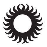 Icono de Sun Imagenes de archivo
