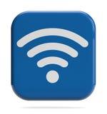 Icono de WiFi imagen de archivo libre de regalías