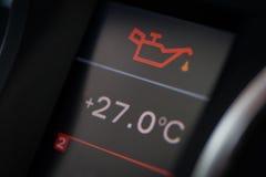 Icono del aceite del coche Imagen de archivo libre de regalías